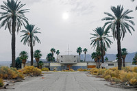 Ruins of North Shore resort on the Salton Sea in California. Dec 2005.  Since demolished.