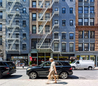 West 4th St. at Mercer (Composite image).  New York City. 2015