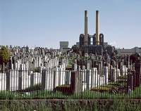 Mt. Zion Cemetery, Maspeth, Queens. New York City. 2002
