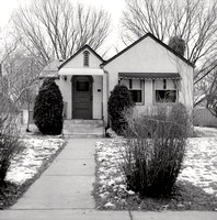 Single-family Home, 3333 20th Ave So, Minneapolis. Winter 1974