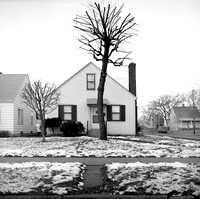 Single-family Home, 3500 17th Ave So, Minneapolis. Winter 1974