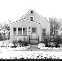 Single-family Home, 2021 E 34th St, Minneapolis. Winter 1974