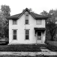 Lost Houses: Single-family Home, 2419 E 24th St., Minneapolis. Fall 1973. Since demolished.
