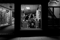 Shop window, night. Brattleboro, VT. May 2017