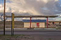 Abandoned gas station, Lordsburg, NM. March 2017
