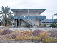 Abandoned motel, Salton Sea. Dec 2005